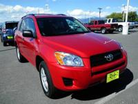 Just Arrived*** 4 Wheel Drive* This Red Toyota