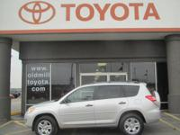 TOYOTA CERTIFIED RAV-4, 4WD, CLEAN CARFAX, and