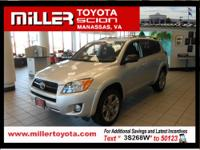 THIS RAV4 IS CERTIFIED! CARFAX ONE OWNER! SUNROOF,