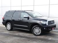 This 2011 Toyota Sequoia 4dr 4WD LV8 FFV 6-Spd AT