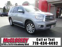 ONE OWNER! 8 passenger! Redesigned and sleek Sequoia!