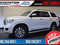 Sequoia Limited, 4D Sport Utility, Super White, and