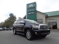 2011 Toyota Sequoia Limited 4x4. One-Owner Local Trade!