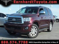 We are happy to offer you this 2011 Toyota Sequoia