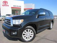 One owner, well maintained!! This 2011 Toyota Sequoia