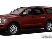 2011 Toyota Sequoia Sport Utility Platinum 5.7L V8 Our