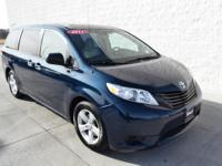 This outstanding example of a 2011 Toyota Sienna is