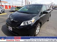 Spotless!! Get down the road in this notable Sienna,