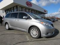 This 2011 Sienna is for Toyota enthusiasts looking the