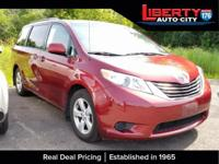 CARFAX One-Owner. Clean CARFAX. Salsa Red Pearl 2011