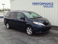 2011 TOYOTA SIENNA LE!! 3.5L V6, ALLOY WHEELS,