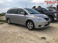 2011 Toyota Sienna LE FWD 6-Speed Automatic Electronic