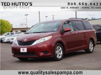 Exterior Color: salsa red pearl, Body: LE 7-Passenger