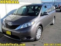 Rare all wheel drive Sienna! Get all the practicality