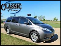 CARFAX One-Owner. Gray 2011 Toyota Sienna FWD 6-Speed