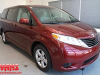 ~~~ 2011 Toyota Sienna LE ~~~ CARFAX: 1-Owner, Buy Back