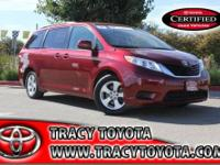 This very clean 2011 Toyota Sienna needs a new home. It