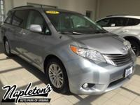 Recent Arrival! 2011 Toyota Sienna in Silver, AUX