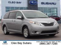 COMPLETE CLEO BAY USED VEHICLE INSPECTION!!. Sienna