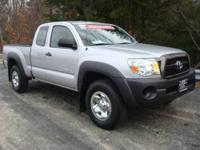 2011 Toyota Tacoma Access Cab with 5-speed manual