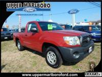 Get a bargain on this 2011 Toyota Tacoma while we still