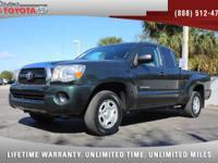 2011 Toyota Tacoma Access Cab SR5, *** 1 FLORIDA OWNER