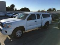 Options:  2011 Toyota Tacoma|White|Tacoma|Access Cab|