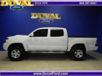 Nice looking Tacoma with power options, 4WD, backup