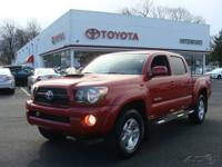 2010 TACOMA-V6-TRD SPORTS-4X4-AUTOMATIC-METALIC RED,