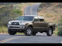 CARFAX 1 Owner 2011 TOYOTA TACOMA with just 44321