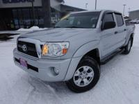 Options:  2011 Toyota Tacoma Prerunner|Silver|Priced