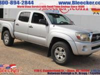 This Tacoma is very clean. It features an AM/FM/XM