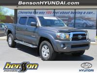 CLEAN CARFAX and CARFAX CERTIFIED. Tacoma PreRunner V6,