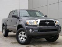 PreRunner trim. Toyota Certified, CARFAX 1-Owner, LOW