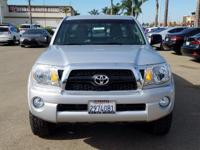 Options:  2011 Toyota Tacoma Base|Silver|4.0L V6 Smpi