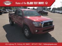 Barcelona Red Metallic 2011 Toyota Tacoma V6 4WD
