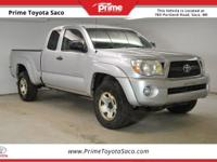 2011 Toyota Tacoma in Silver Streak Mica! With these