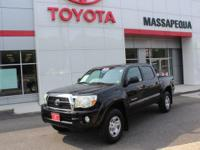Black 2011 Toyota Tacoma V6 4WD 5-Speed Automatic with