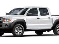 Clean CARFAX. SILVER 2011 Toyota Tacoma V6 4WD 5-Speed