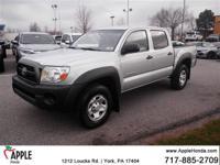 2011 Toyota Tacoma V6 Silver  Options:  236 Hp