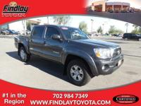Toyota Certified, ONLY 61,915 Miles! EPA 20 MPG Hwy/16