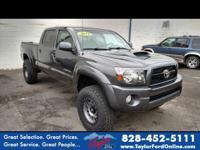 Options:  2011 Toyota Tacoma V6|4X4 V6 4Dr Double Cab