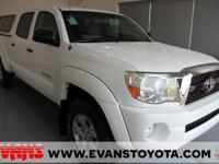 New Price! CARFAX One-Owner. WHITE 2011 Toyota Tacoma