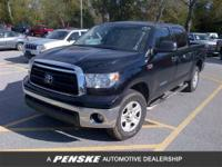 Tundra trim. CARFAX 1-Owner. CD Player, Dual Zone A/C,