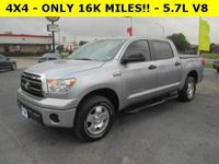 4X4 - ONLY 16K MILES!! - i-Force 5.7L V8 DOHC - BED