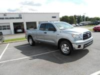 You must see this Silver 2011 Toyota Tundra 4WD Truck!
