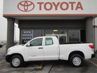 TOYOTA CERTIFIED TUNDRA DOUBLE CAB, 4.6L V8 DOHC 32V