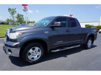 Gasoline! Extended Cab! Toyota Certified means a 160