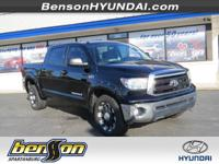 NON-SMOKER and NEVER A RENTAL. 4D CrewMax, 4WD, and