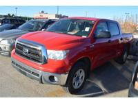 We are excited to offer this 2011 Toyota Tundra 4WD